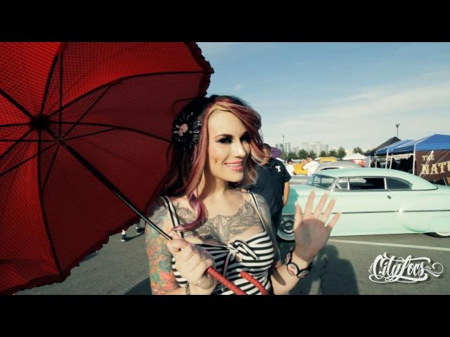 Hot Rods and Pin Up girls Viva Las Vegas Rockabilly 2014