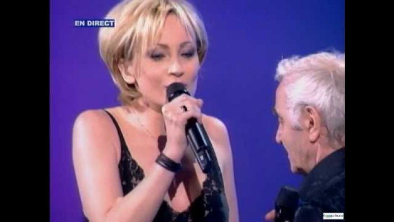 Patricia Kaas Charles Aznavour ~ Que cest triste Venise (22 05 2004)