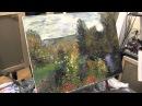 Художник Игорь Сахаров,импрессионизм, уроки рисования для начинающих
