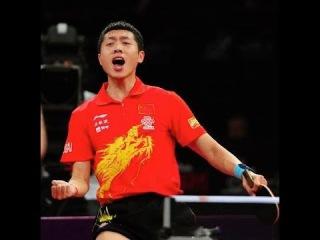 Профи Пингпонга Xu Xin vs Zhu Linfeng AMAZING POINT Chinese Super League 2015