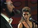 Celine Dion Luciano Pavarotti - I Hate Then I Love You Live @ Pavarotti Friends 1998