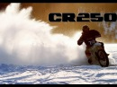 Honda Cr 250 dirt bike ICE RACING / A video produced by Frez Productions