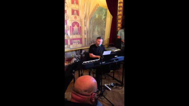 Gary Barlow Feet don't touch the ground 9/16/15 FN private gig