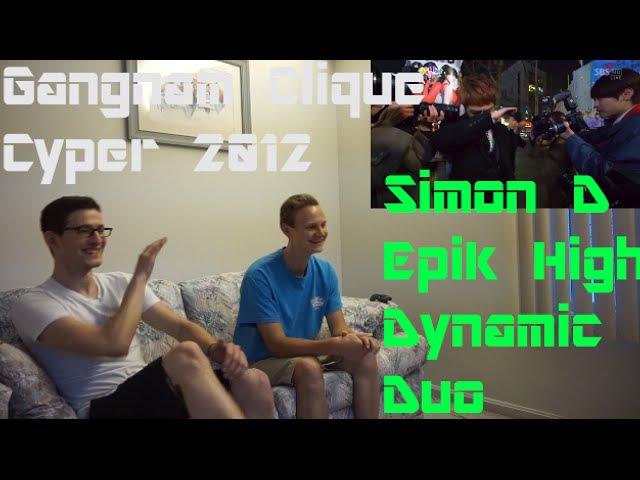 Simon D Dynamic Duo Epik High Cypher 2012 Non Kpop Fan Reacton HD