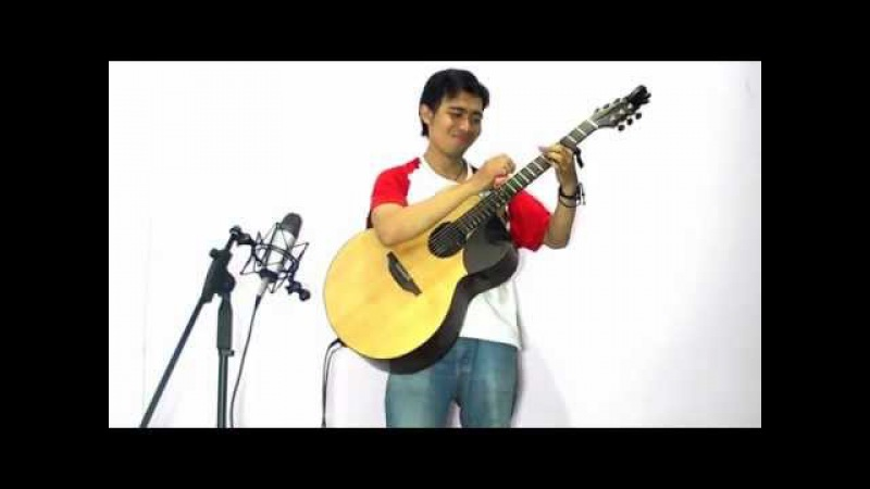 Thomas Leeb - Don't Worry, Be Happy (Bobby McFerrin) acoustic guitar cover by Ruka