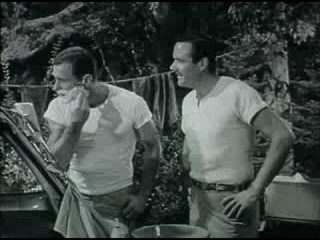 Gillette Razor Blades commercial - 1950's