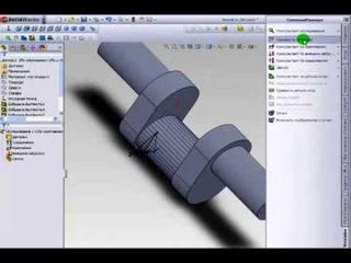 Расчет кривошипного вала на прочность в программе SolidWorks 2010.