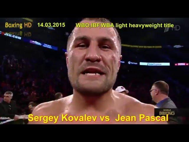 Профессиональный бокс Лучшие момнеты бое и нокауты Сергея Ковалева