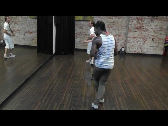 Yoandy Villaurrutia Salsa Rumba Afro Body Movement 14 08 12