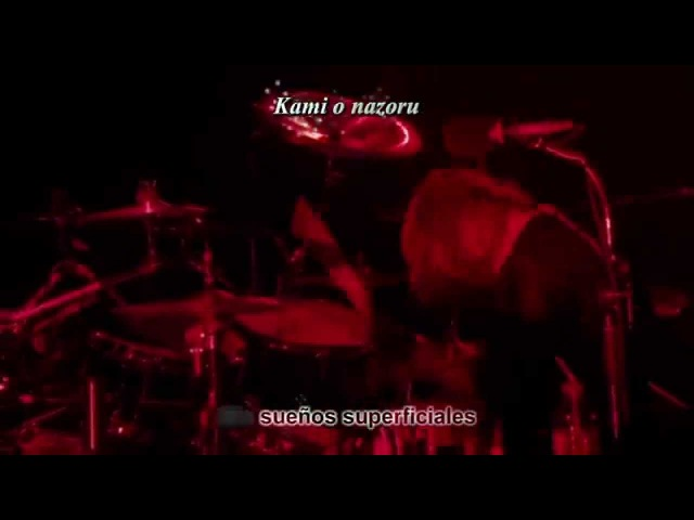 CS The GazettE kago no sanagi 籠の蛹 Sub Español
