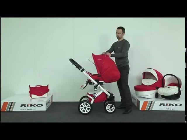 Wózek Dziecięcy Riko Brano Ecco