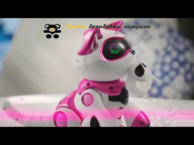 Teksta Robotic Kitty интерактивная кошка. Игрушка робот Текста Китти