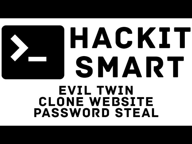 Evil Twin AP Clone Website HTTRACK Password Steal PART 1