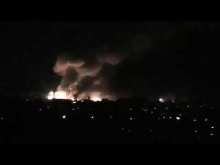В Сватово горят склады с боеприпасами ()