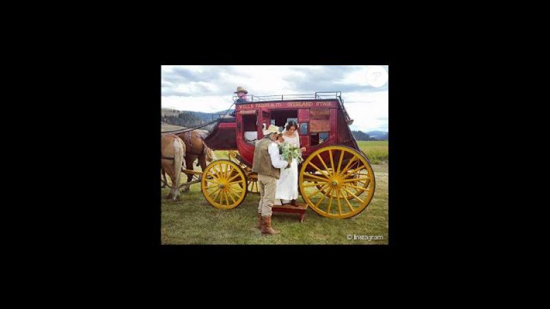 Gabrielle Anwar et Shareef Malnik Leur luxueux mariage inspiré du Far West