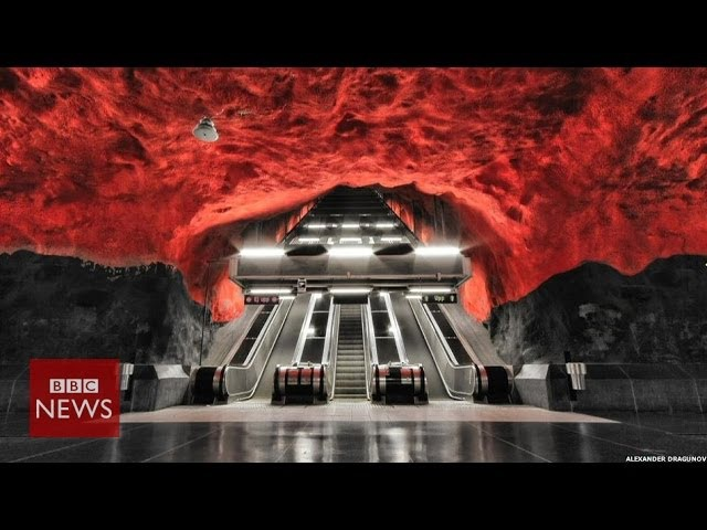 'The most beautiful metro in the world' BBC News