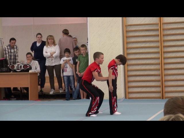 Акробатика. Соревнование по 1 юношескому разряду. Май 2016