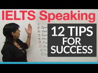 12 IELTS Speaking Tips