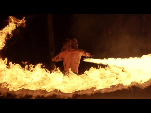 Fire Demons amazing fireshow created by Enigma art