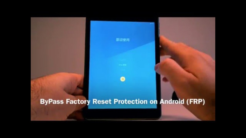 ByPass Factory Reset Protection on Android FRP with no OTG no ROOT no Cable