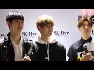 [FANCAM]160223 GOT7 싱가포르 K-live 팬미팅 고백송 (Acappella Ver.) 마크(MARK) focus