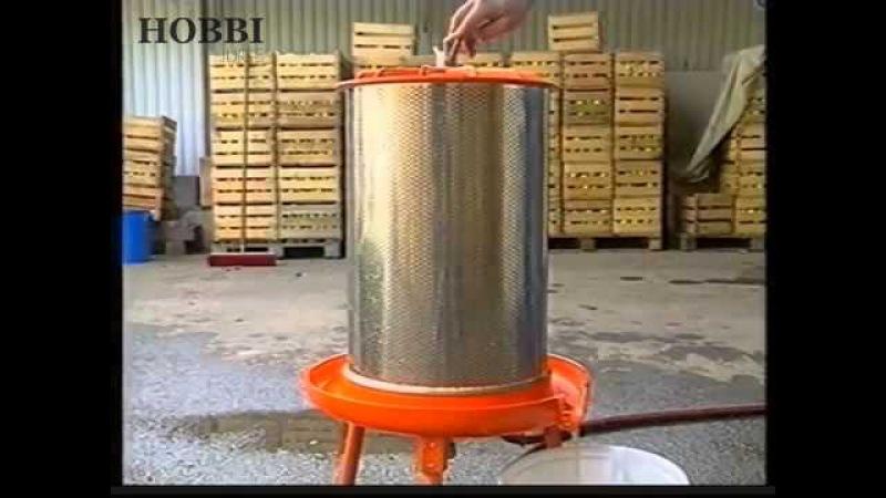 Садовая соковыжималка Hobbi Juice (65 литров в час)