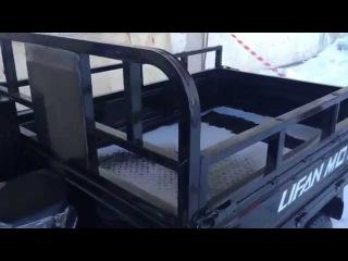 Трицикл Лифан 200 - трехколесный грузовой мотоцикл с кузовом
