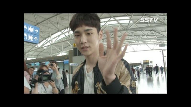 SSTV 샤이니 키 Shinee Key 공항에 나타난 만찢남 '남다른 패션 센스는 덤'