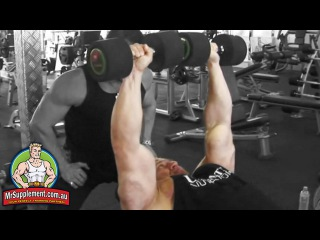 Marcus Ruhl's Incline Dumbbell Press   Chest Exercise #1