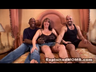 Exploited Moms - Marie Louise (35yr) [2 on 1, Big Tits, Black, Blowjob, Boobs, Cumshot, DP, Interracial, Mature, MILF, Зрелые]