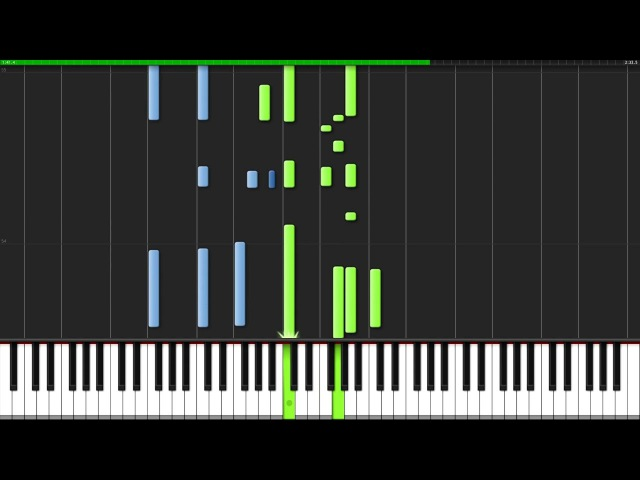 Ophelia The Lumineers Piano Tutorial Synthesia David Kaylor