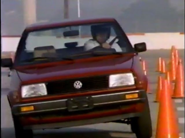 1986 VW GOLF and Jetta Mk2 vs. competition VHS Showroom Tape