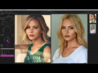 RETOUCHING TUTORIAL: Image Deconstructed Jennifer Lawrence by Mikael Jansson