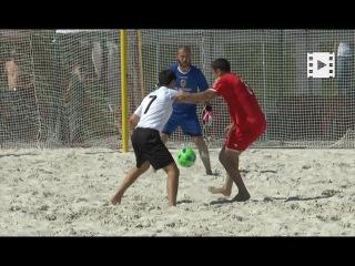 Чемпіонат України з пляжного футболу в Івано-Франківську