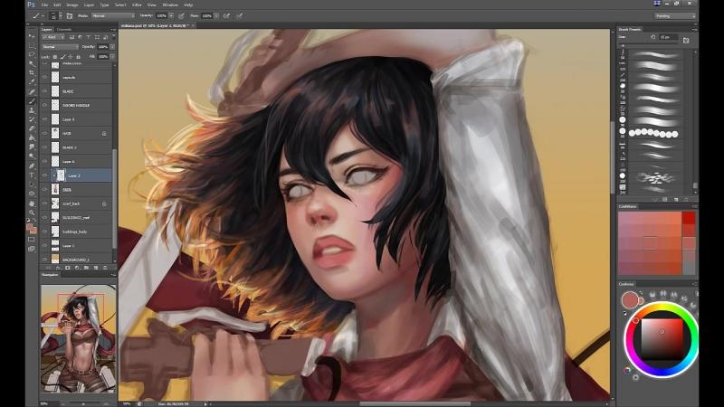 Mikasa (by serafleur)