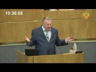 Жириновский толково рассуждает о роли политических партий.