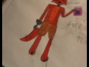 Мои рисунки Фнаф на листках и в альбоме№3