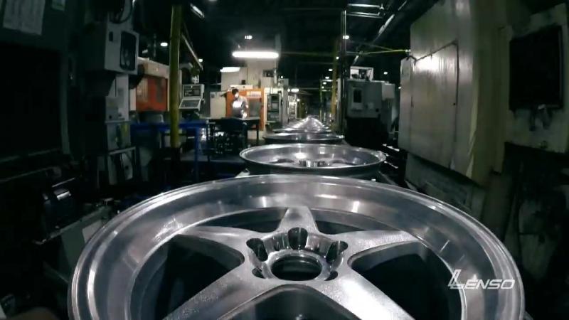 Как делают диски LENSO