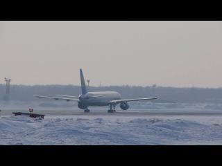 Boeing 757 231 VP BUH Uzbekistan Airways Takeoff RWY25 UNNT