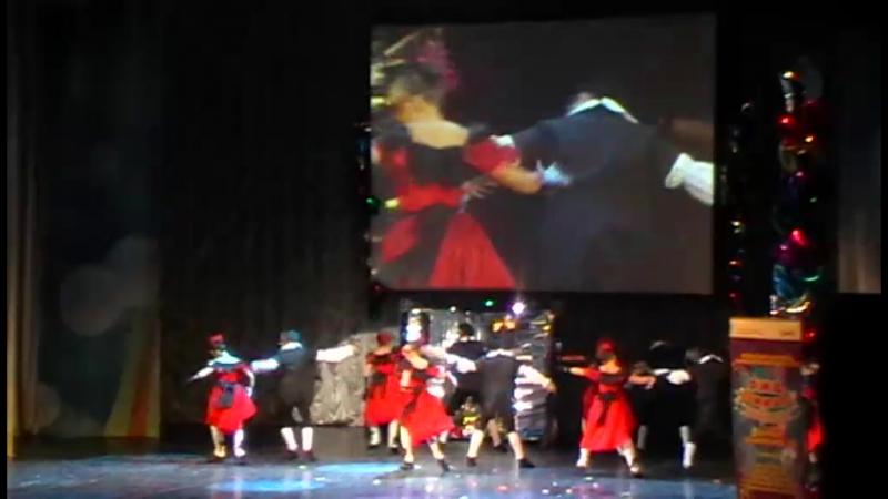 2014 03 31 РЖД зажигает звёзды Театр танца Рондеву ОмГУПС