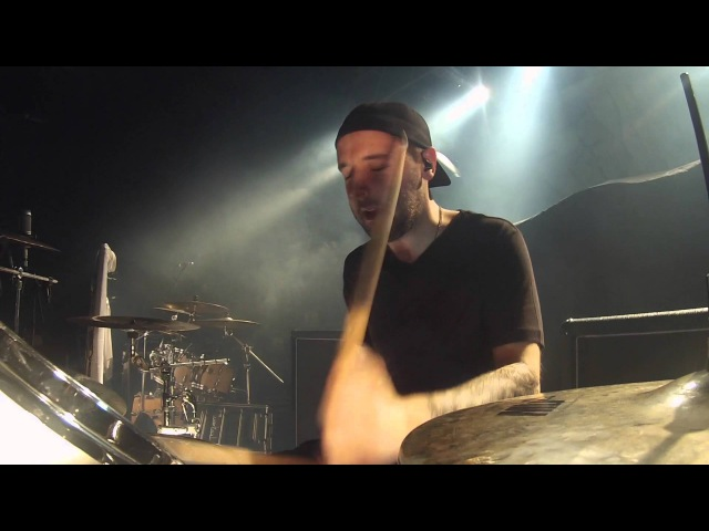 Dan Wilding Carcass Incarnated Solvent Abuse Live in St Paul Drum Cam