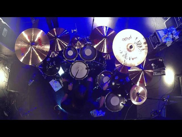 WARREL DANE@The Sound Of Silence-Marcus Dotta-live in Poland 2016 (Drum Cam)
