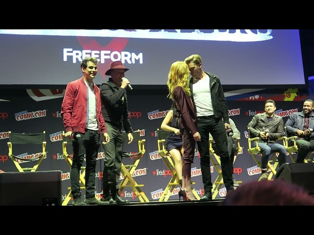 Comic Con 2016 CLACE MALEC SIZZY Shadowhunters