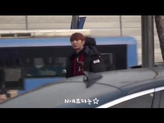 Fancam 161231 VIXX before MBC Gayo Daejejeon