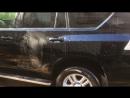 Абразивная полировка кузова Toyota land cruiser prado