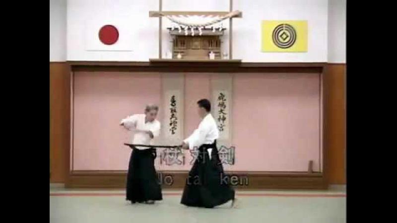 Nishio Aikido Vol 4 5 y 6 Shomenuchi 2 Yokomenuchi Ryotedori Sodedori