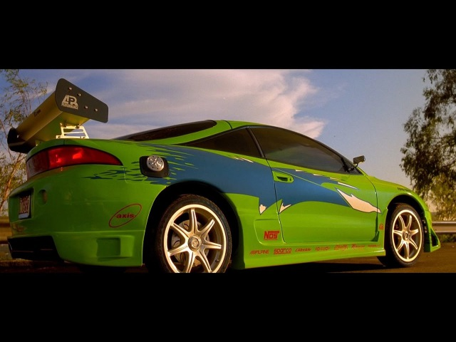 Fast Furious 2001 Mitsubishi Eclipse scene Enter the Eclipse Blu ray 4K