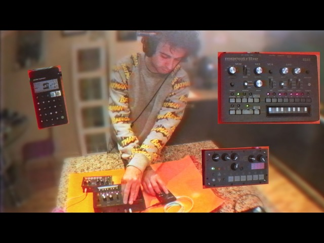 Live Jam With PO-12, Monotribe MicroGranny 2