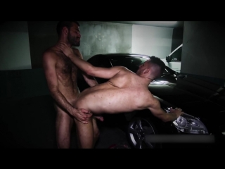 [ericvideos]dylancox pounds jimmy in a parking lot #gay #porn #bareback #public