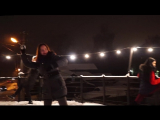 Новогодний Mannequin Challenge от HundertWasser и Dialogue Dance